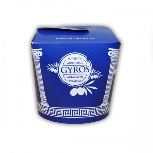 Gyros Box 26oz gross 500 Stk.